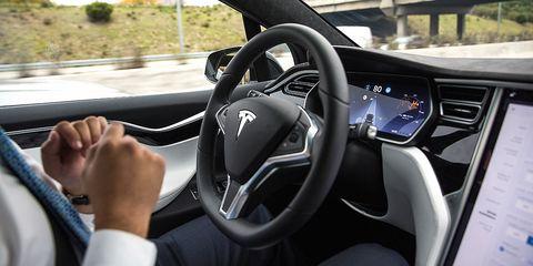 Vehicle, Car, Steering wheel, Motor vehicle, Automotive design, Tesla model s, Design, Tesla, Steering part, Driving,