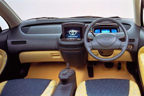 Land vehicle, Vehicle, Car, Motor vehicle, City car, Steering wheel, Vehicle audio, Minivan, Subcompact car, Center console,