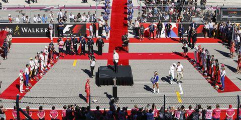 Red, Sport venue, Sports, Stadium, Games, Crowd, Team sport,