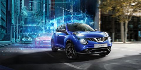 Land vehicle, Vehicle, Car, Nissan juke, Nissan, Sport utility vehicle, Automotive design, Mid-size car, City car, Compact sport utility vehicle,