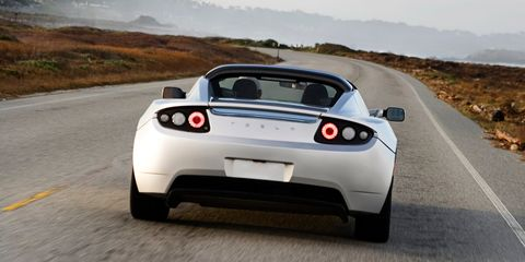 Land vehicle, Vehicle, Car, Sports car, Supercar, Tesla roadster, Automotive design, Tesla, Performance car, Coupé,