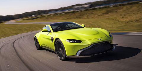 Aston Martin Vantage - delantera