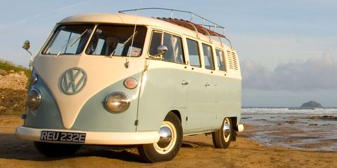 Land vehicle, Vehicle, Car, Motor vehicle, Volkswagen type 2, Van, Mode of transport, Transport, Samba, Volkswagen,