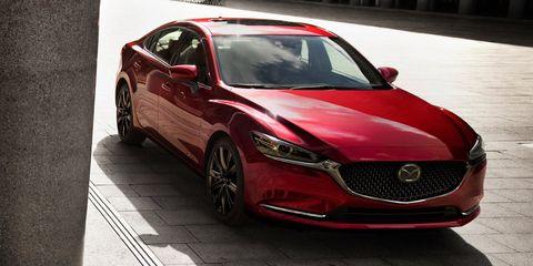 Land vehicle, Vehicle, Car, Mazda, Mid-size car, Automotive design, Mazda6, Full-size car, Sedan, Luxury vehicle,