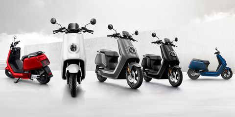 Land vehicle, Scooter, Vehicle, Motor vehicle, Mode of transport, Automotive design, Automotive tire, Car, Wheel, Tire,