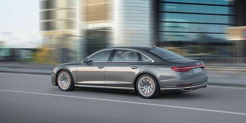 Land vehicle, Vehicle, Car, Luxury vehicle, Automotive design, Motor vehicle, Audi, Mid-size car, Personal luxury car, Full-size car,