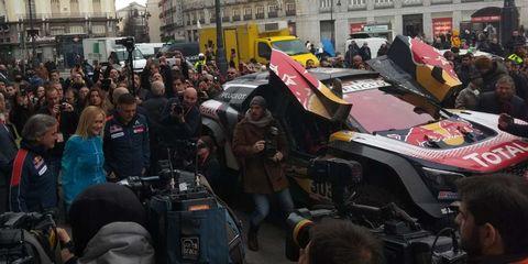Crowd, Motor vehicle, Protest, Event, Public event, Public space, Vehicle,
