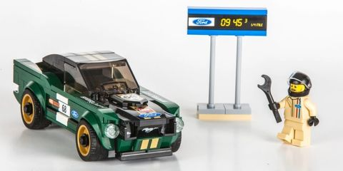 Toy, Vehicle, Car, Lego, Fictional character, Model car, Toy vehicle, Classic car, Playset,
