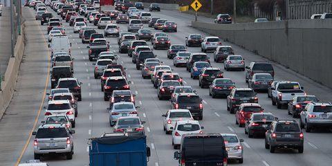 Motor vehicle, Traffic, Transport, Traffic congestion, Vehicle, Mode of transport, Thoroughfare, Car, Lane, Urban area,