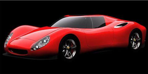Land vehicle, Vehicle, Automotive design, Car, Sports car, Red, Supercar, Performance car, Coupé, Classic car,