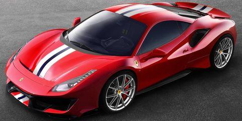 Land vehicle, Vehicle, Car, Supercar, Sports car, Automotive design, Red, Luxury vehicle, Coupé, Race car,