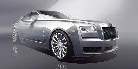Land vehicle, Vehicle, Luxury vehicle, Car, Rolls-royce, Automotive design, Rolls-royce phantom, Rolls-royce wraith, Rolls-royce ghost, Rim,
