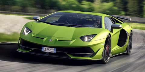 Land vehicle, Vehicle, Car, Sports car, Supercar, Automotive design, Lamborghini, Performance car, Yellow, Lamborghini aventador,