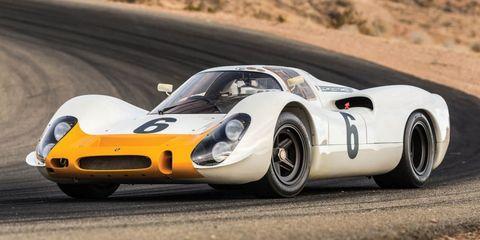Land vehicle, Vehicle, Car, Sports car, Race car, Coupé, Classic car, Porsche 907, Supercar, Performance car,
