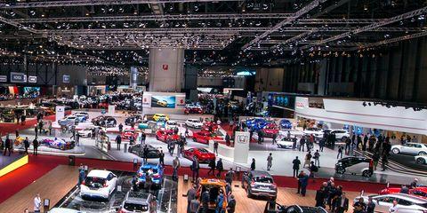 auto show, vehicle, motor vehicle, luxury vehicle, car, building, event, exhibition,