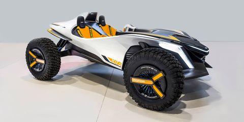 Land vehicle, Vehicle, Car, Automotive design, Formula libre, All-terrain vehicle, Truggy, Sports car, Wheel, Radio-controlled toy,