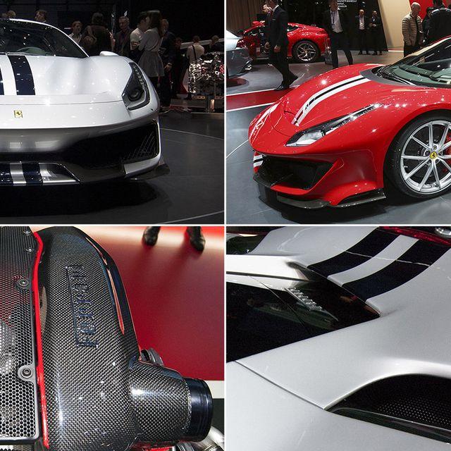 Land vehicle, Vehicle, Car, Supercar, Sports car, Automotive design, Luxury vehicle, Auto show, Coupé, Automotive exterior,