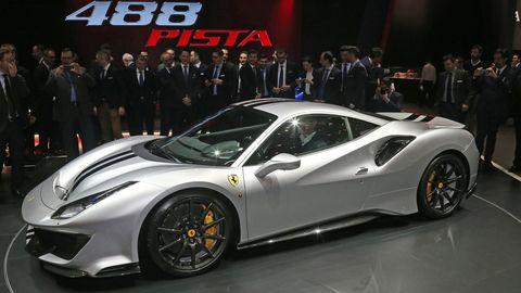 Land vehicle, Vehicle, Car, Supercar, Sports car, Coupé, Automotive design, Ferrari 458, Auto show, Performance car,