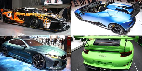 Land vehicle, Vehicle, Car, Sports car, Supercar, Auto show, Automotive design, Performance car, Hood, Coupé,
