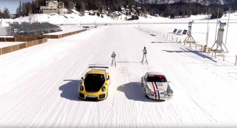Snow, Vehicle, Mode of transport, Winter, Car, Recreation, Winter sport, Asphalt,