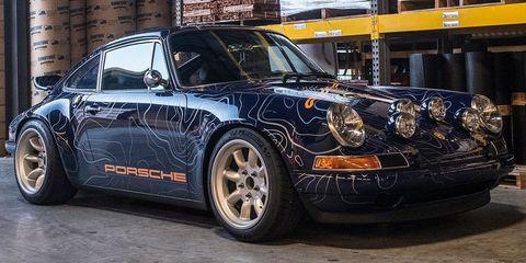 Land vehicle, Vehicle, Car, Regularity rally, Coupé, Rim, Porsche 911 classic, Alloy wheel, Wheel, Automotive design,