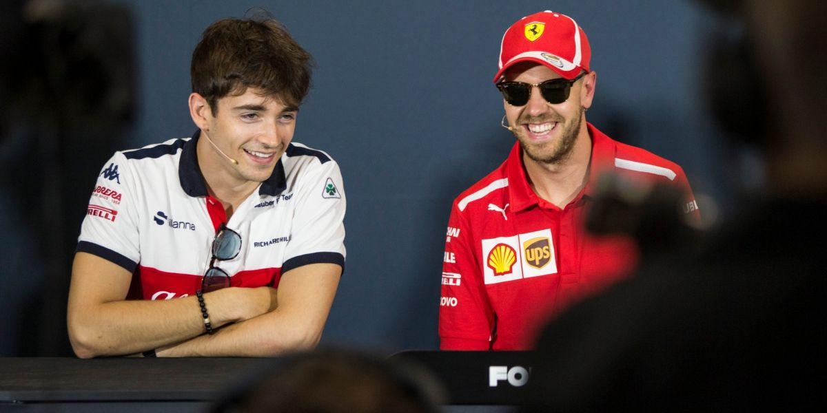 Leclerc no se fija en los elogios de otros pilotos