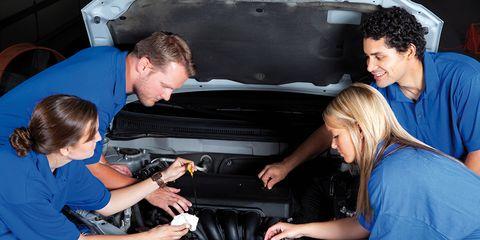 Motor vehicle, Automobile repair shop, Auto part, Auto mechanic, Automotive design, Luxury vehicle, Vehicle door, Automotive exterior, Vehicle, Car,
