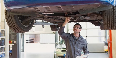Automobile repair shop, Aerospace engineering, Auto mechanic, Auto part, Panel beater, Vehicle, Automotive exterior, Mechanic,