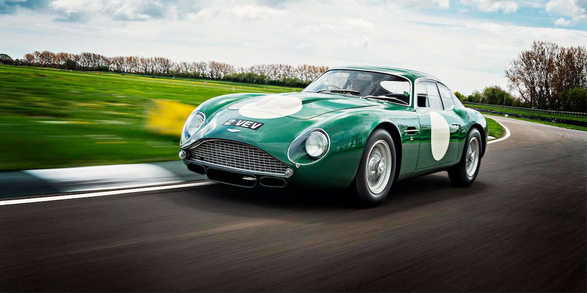 El Aston Martin Db4gt Zagato Bate Records En La Subasta De Goodwood
