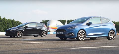 Land vehicle, Vehicle, Car, Hatchback, Automotive design, Ford fiesta, Ford motor company, Hot hatch, Ford, City car,