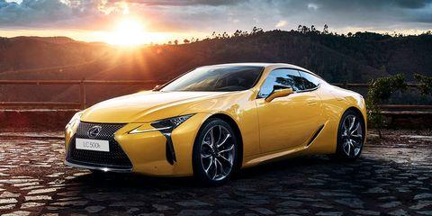 Land vehicle, Vehicle, Car, Sports car, Lexus lfa, Automotive design, Lexus, Motor vehicle, Supercar, Yellow,
