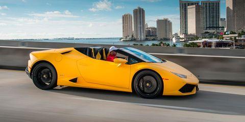 Land vehicle, Vehicle, Car, Supercar, Automotive design, Sports car, Yellow, Motor vehicle, Lamborghini, Mode of transport,