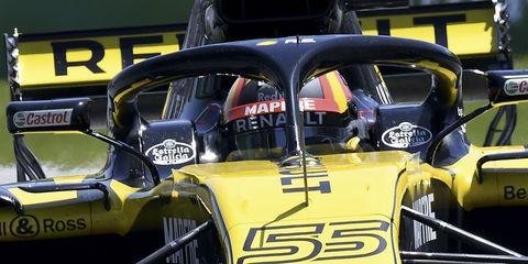 Land vehicle, Vehicle, Motor vehicle, Car, Yellow, Race car, Automotive design, Motorsport, Racing, Subcompact car,