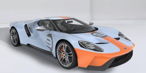 Land vehicle, Vehicle, Car, Supercar, Sports car, Automotive design, Race car, Motor vehicle, Ford gt, Model car,