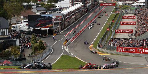 Race track, Sport venue, Motorsport, Vehicle, Racing, Endurance racing (motorsport), Formula one, Race car, Sports car racing, Auto racing,
