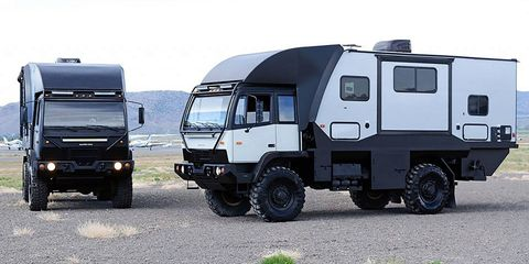 Land vehicle, Vehicle, Car, Transport, Mode of transport, Commercial vehicle, Truck, Travel trailer, Six-wheel drive, Wheel,