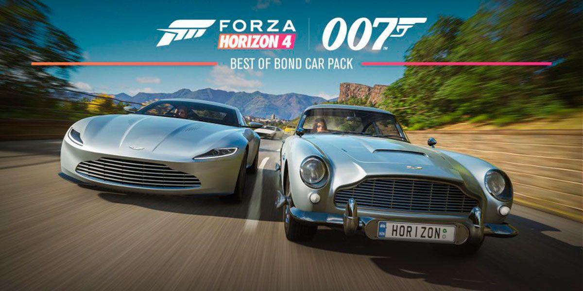 Los Coches Mas Miticos De 007 Llegan A Forza Horizon 4