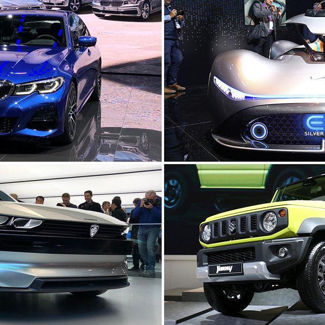 Land vehicle, Vehicle, Car, Auto show, Sport utility vehicle, Automotive fog light, Bumper, Hood, Performance car, Compact sport utility vehicle,