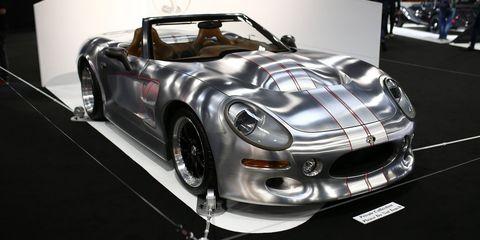 Land vehicle, Vehicle, Car, Sports car, Coupé, Automotive design, Supercar, Auto show, Performance car, Hardtop,