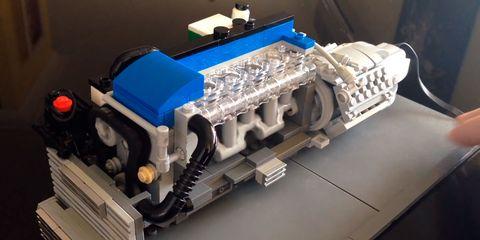 Engine, Auto part, Vehicle, Space, Lego, Toy, Automotive engine part, Machine, Engineering,