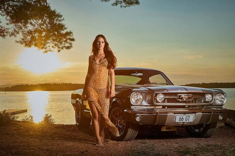 Vehicle, Car, Sky, Vehicle door, Beauty, Automotive design, Summer, Tree, Muscle car, Photography,