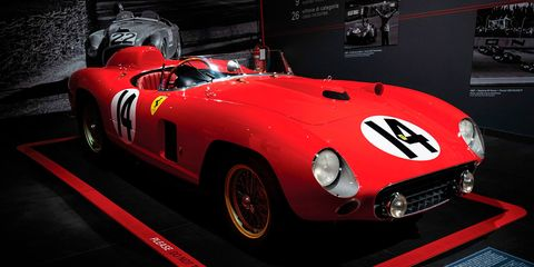 Land vehicle, Vehicle, Car, Sports car, Race car, Classic car, Ferrari tr, Ferrari 250, Ferrari monza, Ferrari 250 tr 61 spyder fantuzzi,