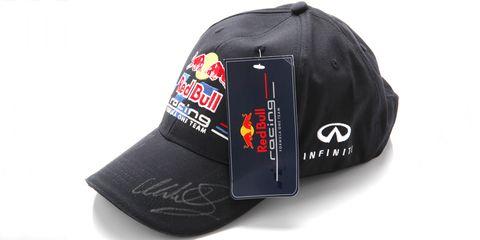 estilos clásicos auténtico auténtico sección especial Gana una gorra oficial de Red Bull Racing firmada por Vettel ...