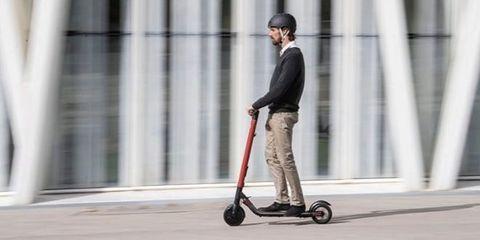 Kick scooter, Vehicle, Scooter, Wheel, Street fashion,