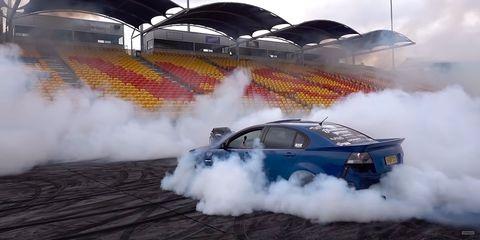 Land vehicle, Vehicle, Car, Smoke, Drifting, Motorsport, Automotive design, Sports car, Racing, Auto racing,