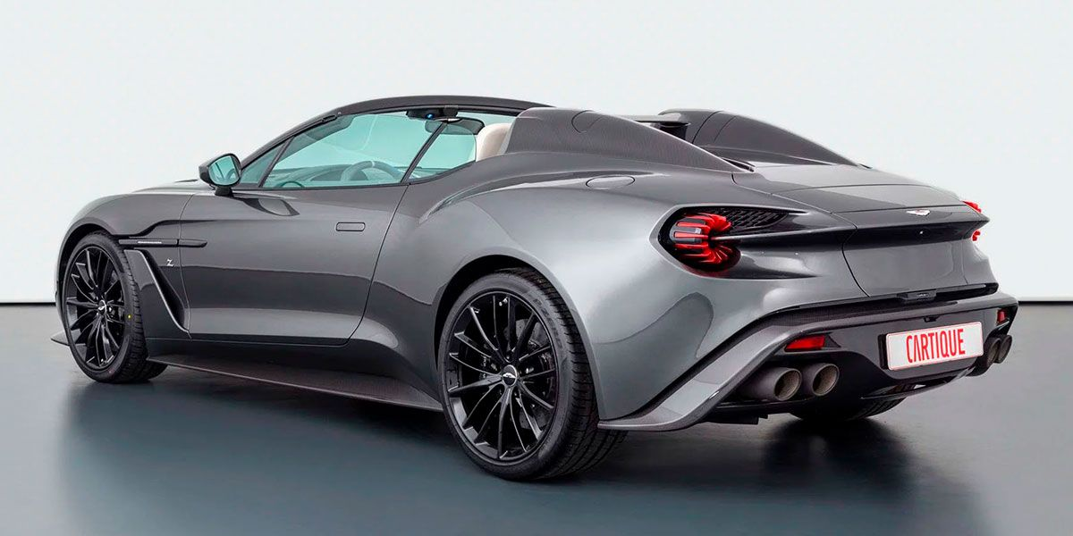 Uno De Los 28 Aston Martin Vanquish Zagato Speedster Vuelve A Estar Disponible
