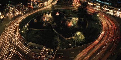 City, Human settlement, Metropolitan area, Night, Infrastructure, Architecture, Traffic, Cityscape, Road, Metropolis,