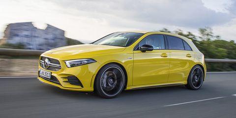 Land vehicle, Vehicle, Car, Automotive design, Yellow, Mid-size car, Tire, Automotive tire, Rim, Full-size car,