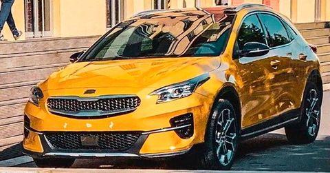 Land vehicle, Vehicle, Car, Motor vehicle, Automotive design, Yellow, Hatchback, Mid-size car, City car, Full-size car,