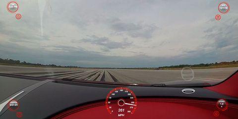 Vehicle, Road, Car, Sky, Mode of transport, Windshield, Performance car, Driving, Mini, Supercar,